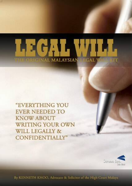 how to write own will in malaysia
